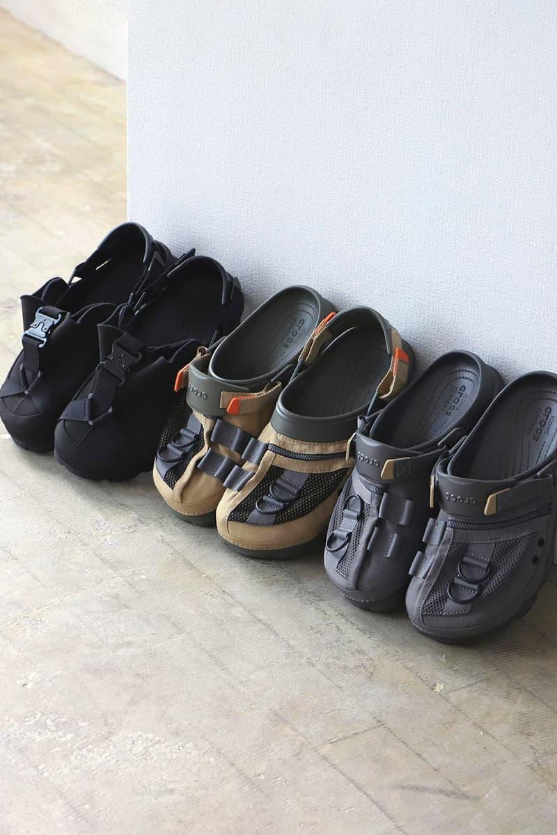 塑造時尚-BEAMS x Crocs 注入機能細節推出聯乘系列