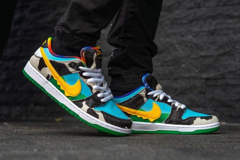 Ben & Jerry's x Nike SB Dunk Low 聯乘鞋款上腳着用圖輯