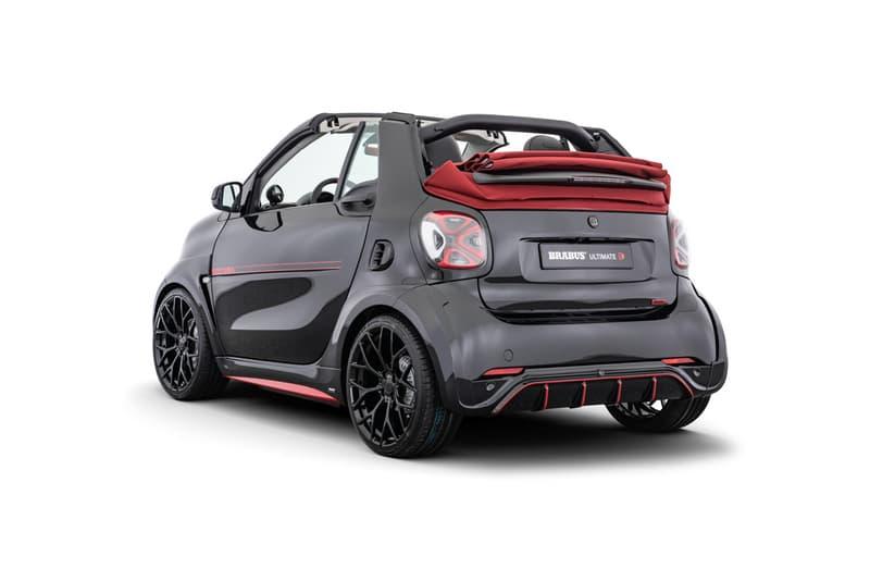 迷你黑魂 − Brabus 打造 Smart EQ Fortwo Cabrio 全新改裝車型