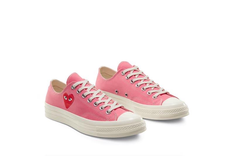 COMME des GARÇONS PLAY x Converse Chuck 70 鞋款香港區發售情報