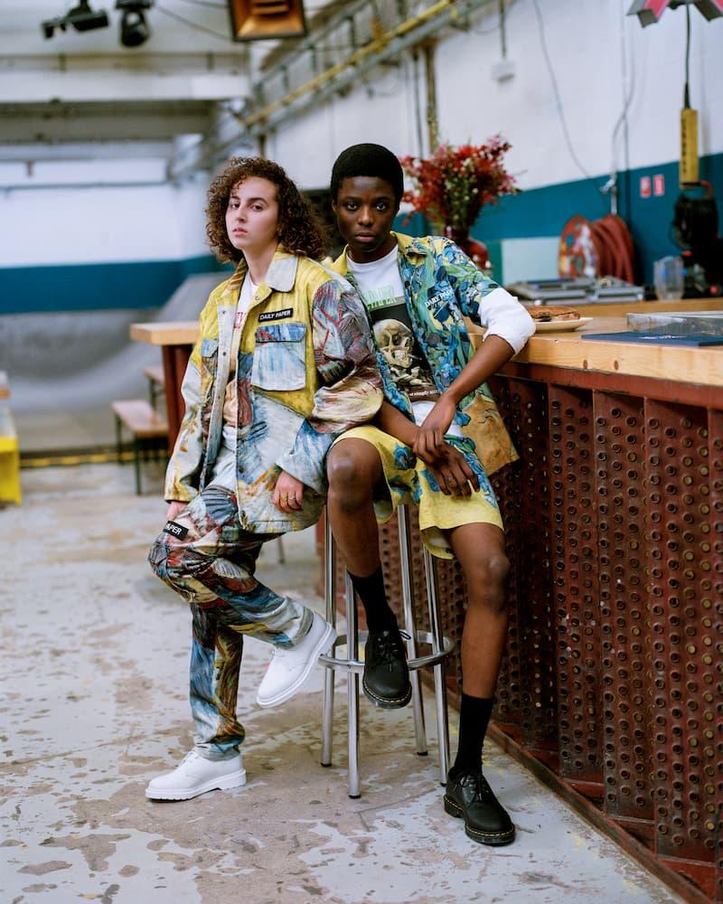 藝術氣息街服-Daily Paper 聯乘 Van Gogh 帶來服飾系列