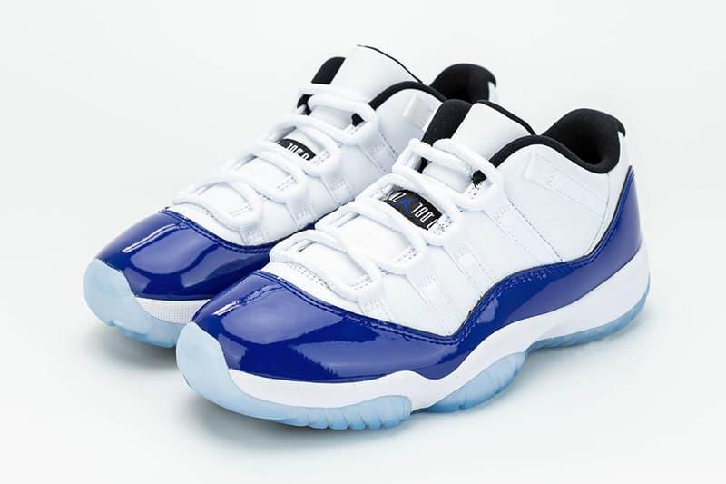 搶先近賞 Air Jordan 11 Low「Concord Sketch」配色鞋款