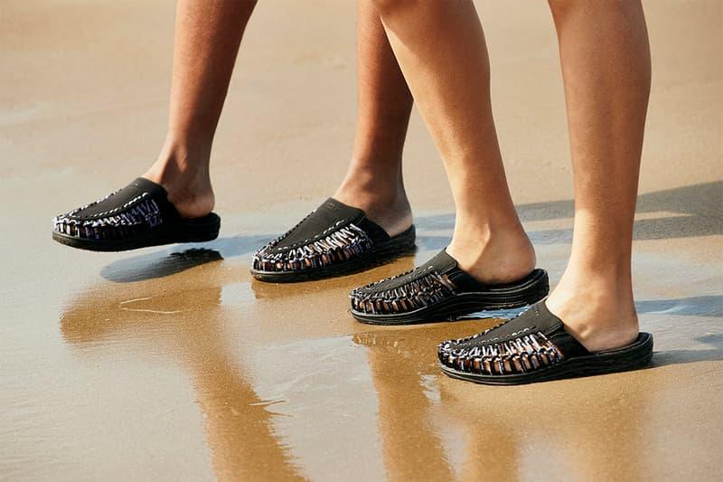 Engineered Garments x KEEN 推出首個聯名鞋款 Uneek II Slide
