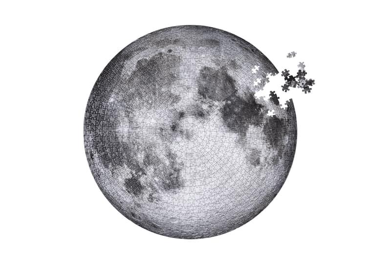 Four Point Puzzles 推出 Apollo 11 登月五十週年紀念版月球拼圖