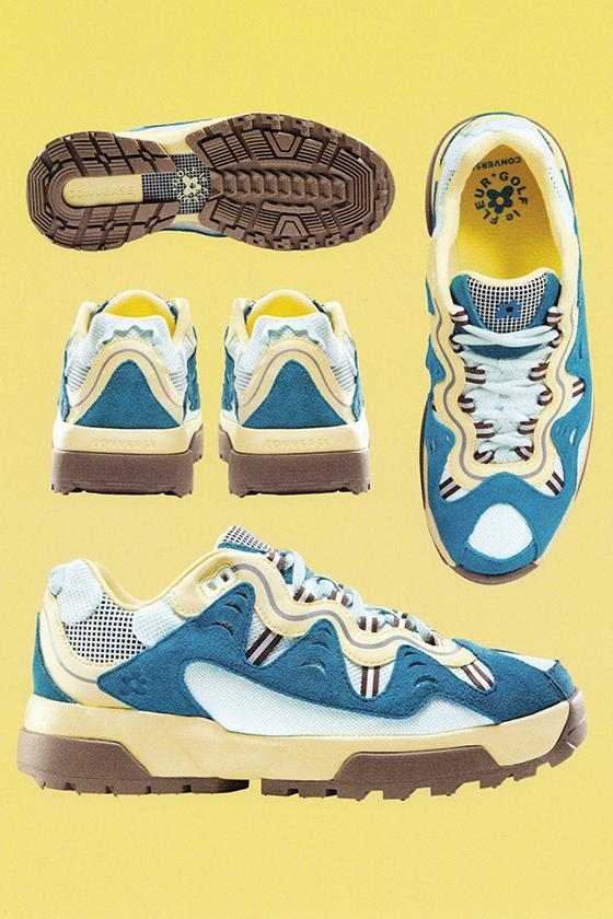 Converse x GOLF le FLEUR* 原創 Gianno 鞋款全新配色上架情報