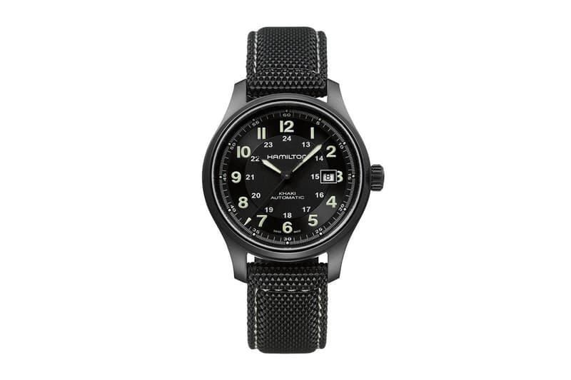 Hamilton 推出鈦金屬升級版本 Khaki Field 軍錶