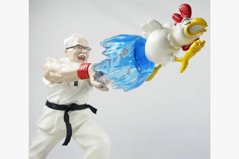 「雞」動拳!HEART LAB 推出 KFC 肯德基上校別注格鬥雕像
