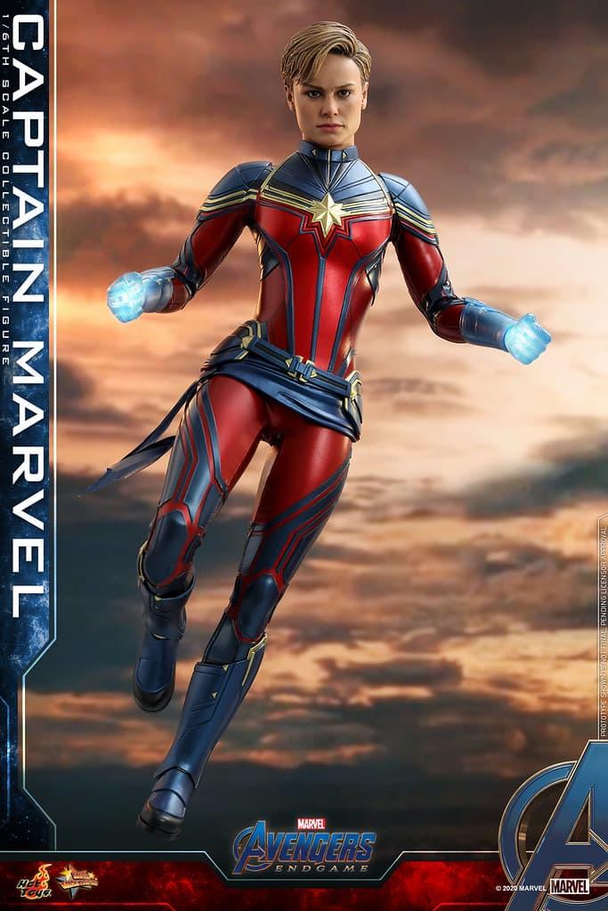 Hot Toys 推出全新 1:6 比例《Avengers:Endgame》Captain Marvel 珍藏人偶