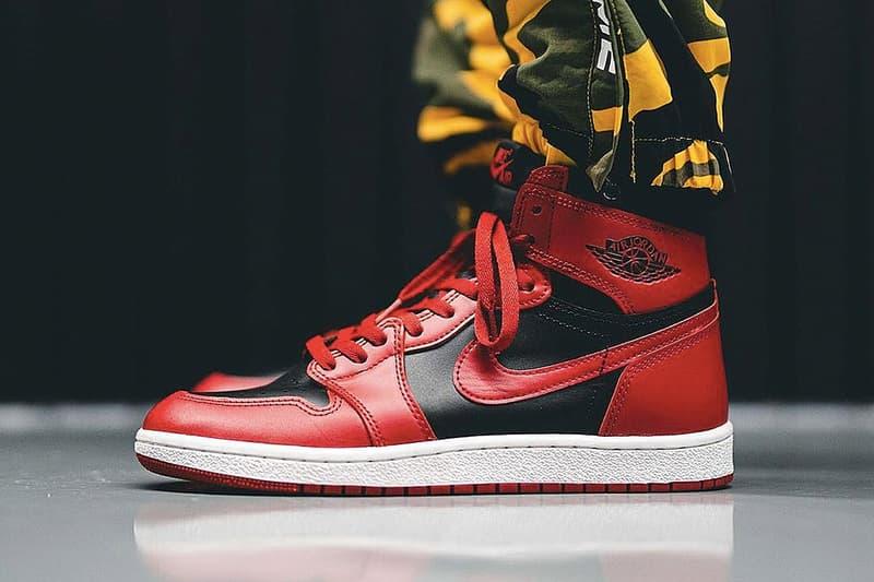 Air Jordan 1 '85「Varsity Red」配色即將以 Air Jordan 1 Low 鞋款亮相
