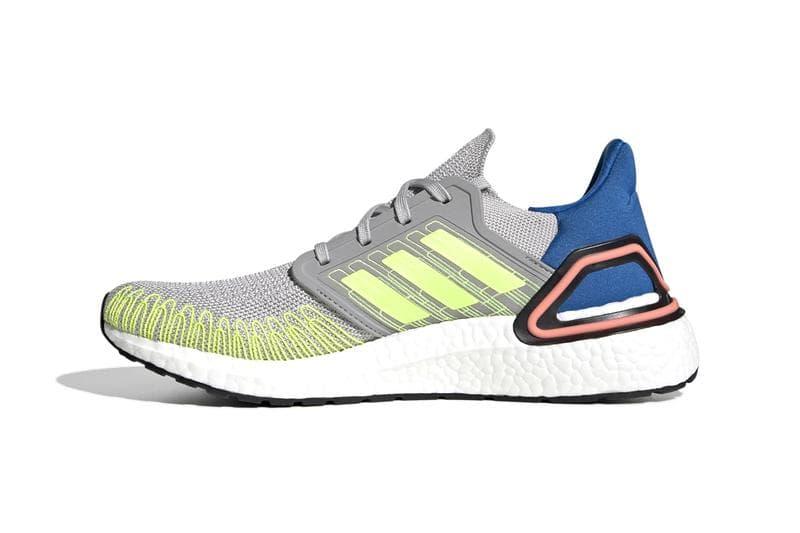 adidas 推出全新螢光色系 UltraBOOST 20