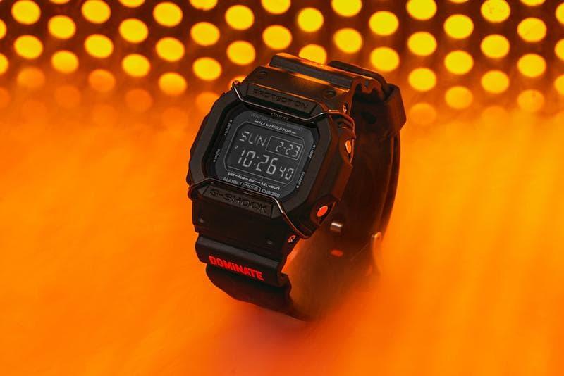 G-Shock 聯手 Dominate 推出別注 DW5600 錶款
