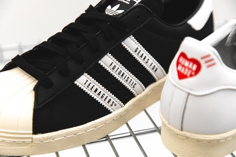 HYPEBEAST 近賞 adidas Originals by HUMAN MADE 全新 Superstar 聯名鞋款