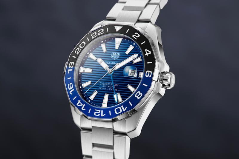 TAG Heuer 推出全新「Batman」配色 Aquaracer GMT 手錶