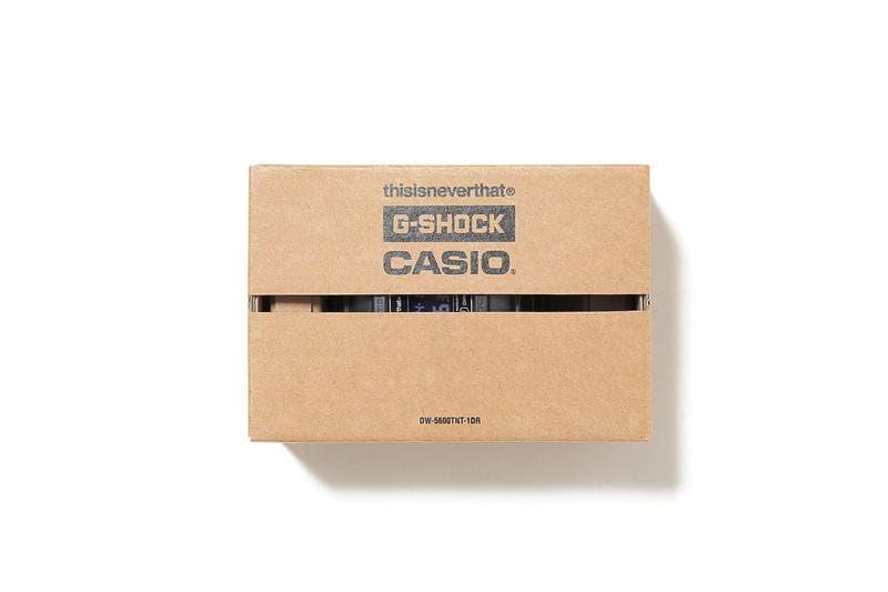 thisisneverthat x G-Shock 聯手重塑 DW-5600 手錶