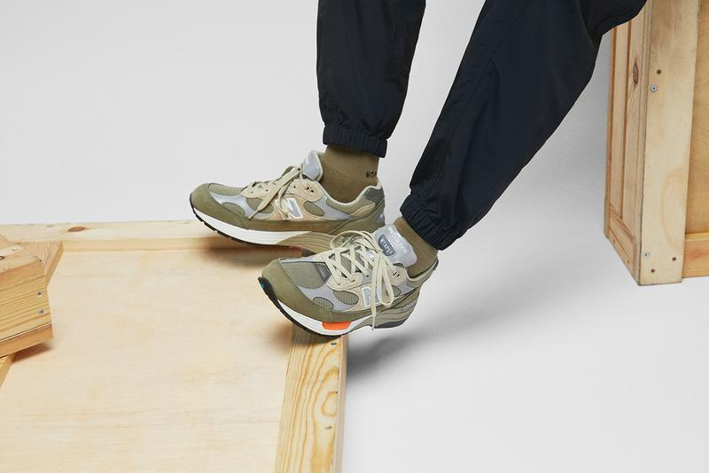全方位鑑賞 WTAPS x New Balance 最新聯名 M992 鞋款
