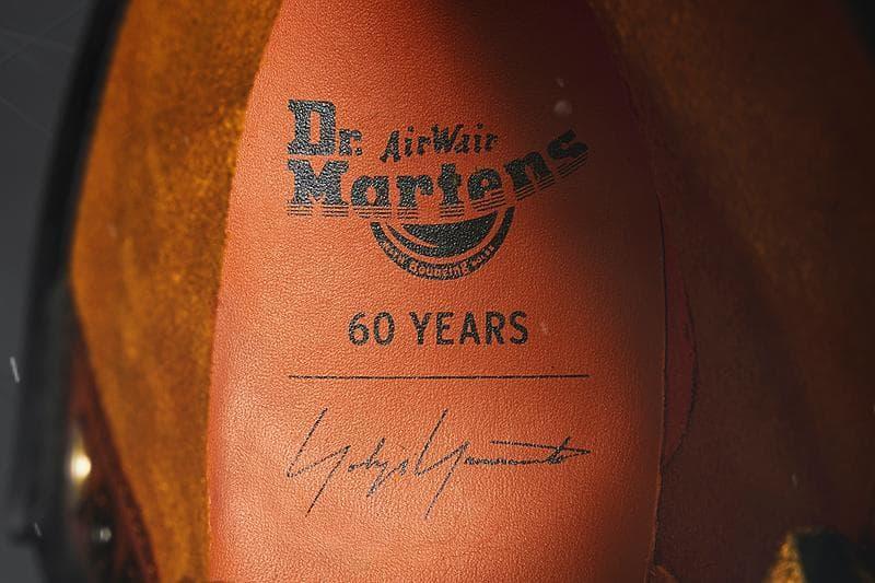 Dr. Martens x Yohji Yamamoto 推出「1460 Remastered」別注靴款