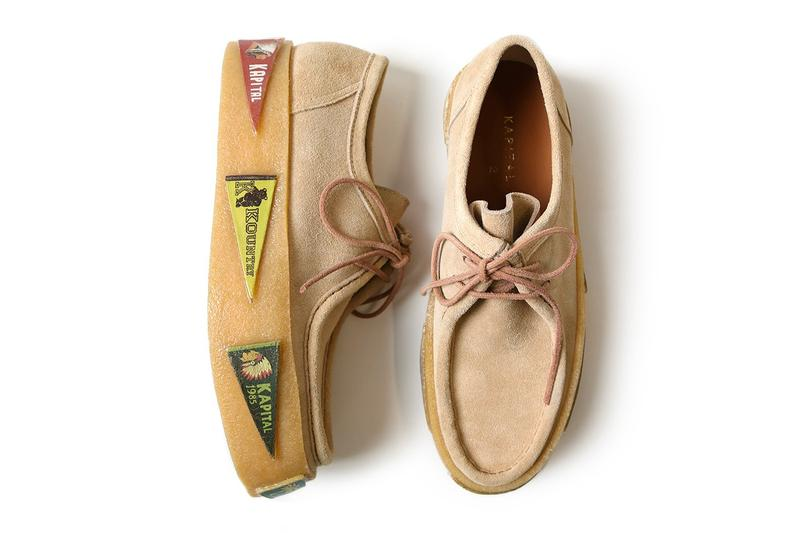 KAPITAL 正式推出全新厚底 3D-KOUNTRY Wallabee 鞋款