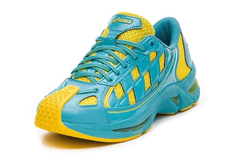 Kiko Kostadinov x ASICS 最新聯名鞋款 GEL-Kiril「Ice Mint」配色即將發佈
