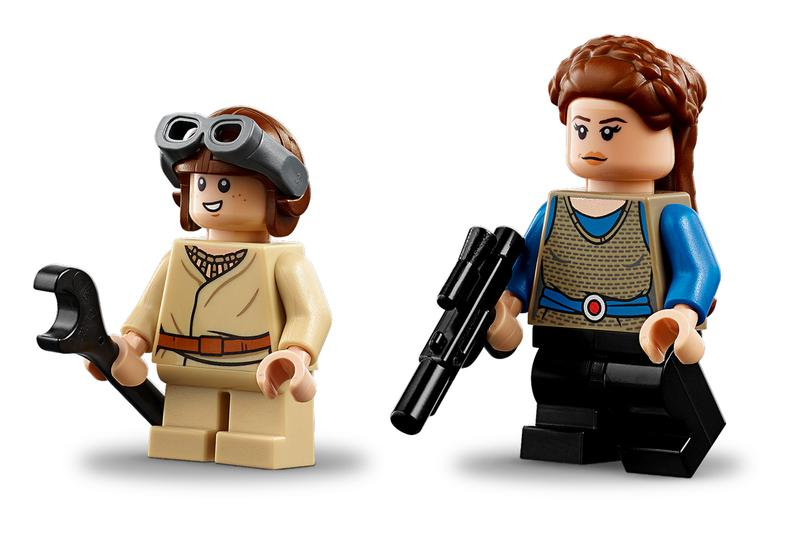 LEGO 推出全新《Star Wars: The Phantom Menace》Anakin Skywalker 經典賽艇