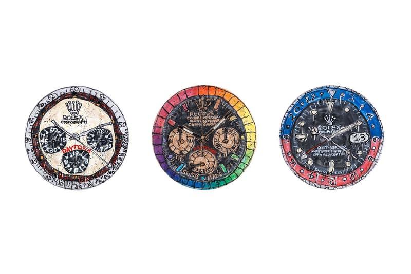 MADSAKI 於村上隆官方紀念品店舖推出全新「Rolex」系列畫作