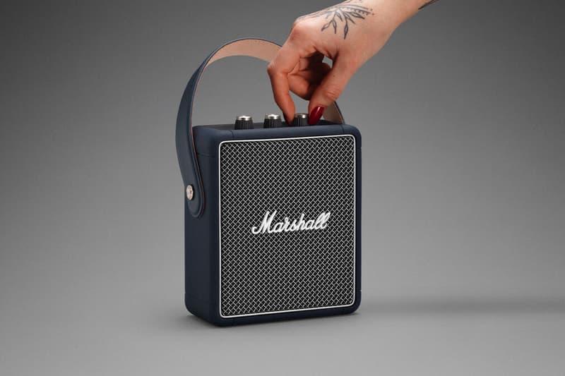Marshall 推出全新藍染限定 Stockwell II 及 Kilburn II 便攜揚聲器