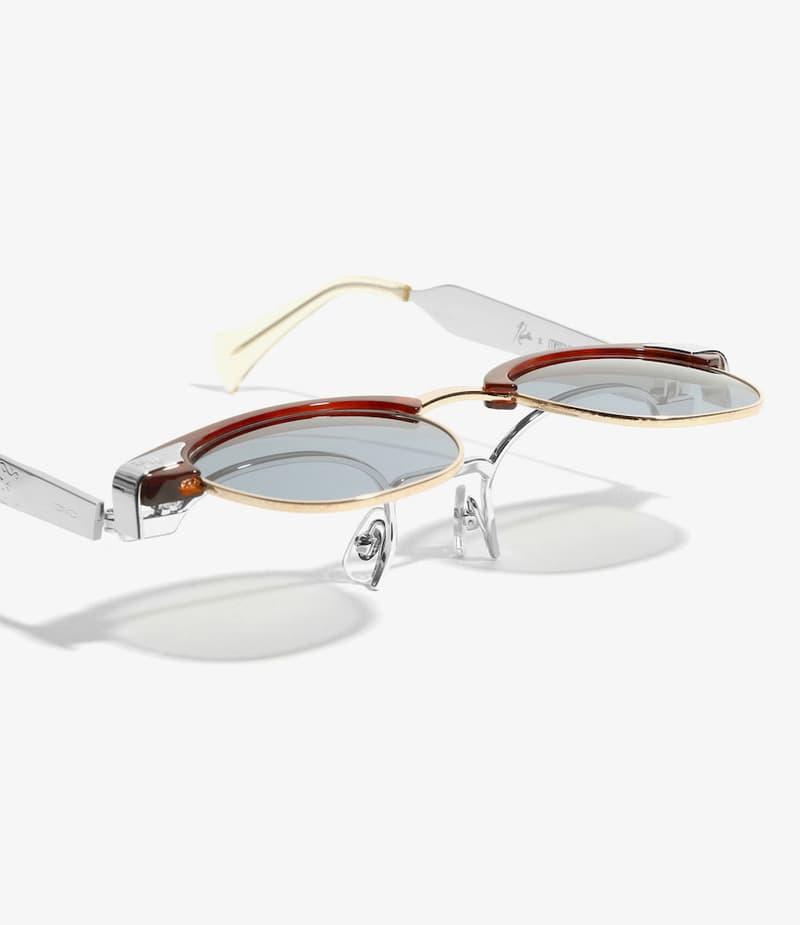 NEEDLES 聯乘 MATSUDA 推出開揭式眉架太陽鏡款