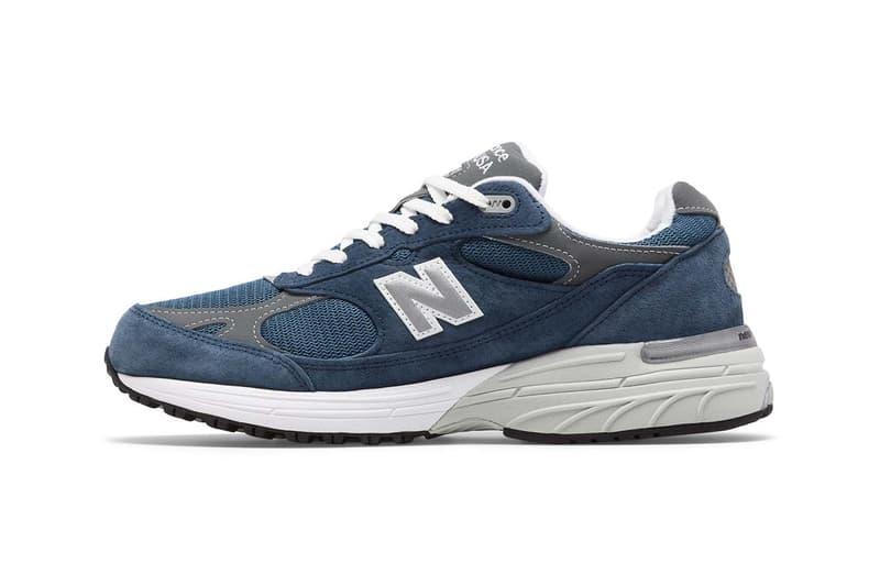 New Balance 993 鞋款注入「Vintage Indigo」配色上架