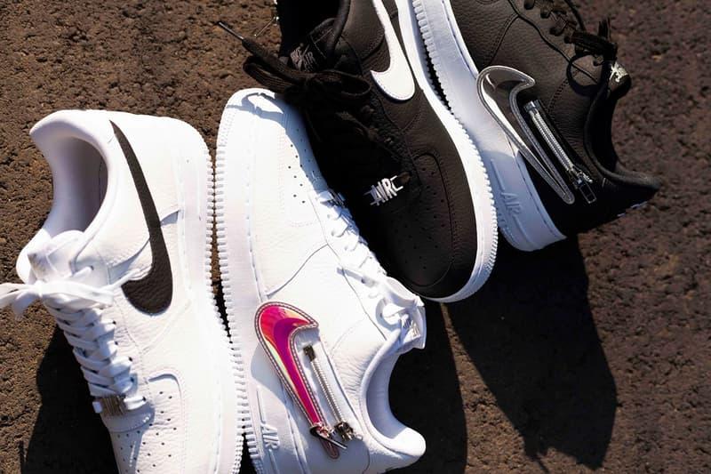 Nike Air Force 1 '07 Premium 全新系列「Zip Swoosh」發佈