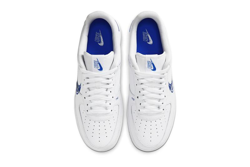 Nike Air Force 1「Sketch」追加全新藍調配色