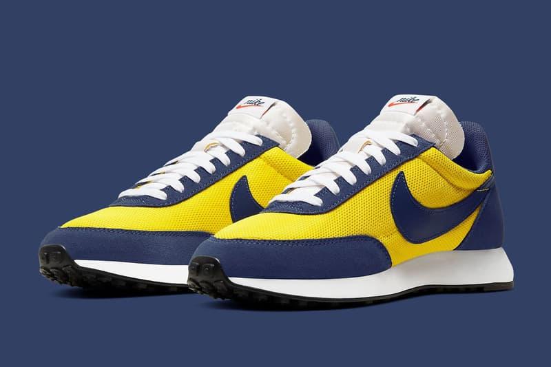 Nike Air Tailwind 79 推出全新「Michigan」配色鞋款