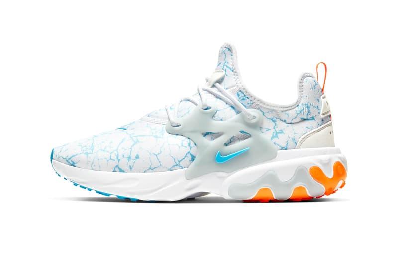 Nike React Presto Premium 迎來「Aura & Blue Fury」新配色