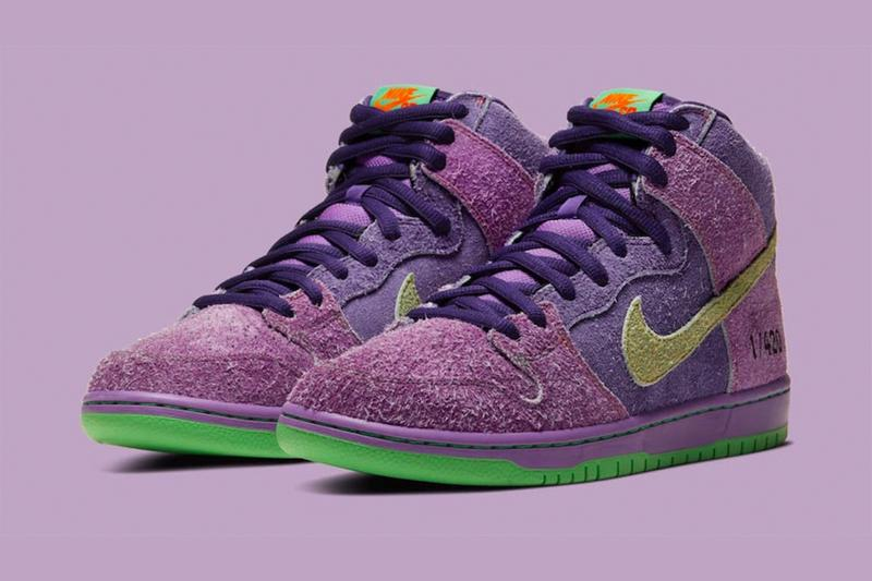 Nike SB 推出全新 Dunk High「420」配色