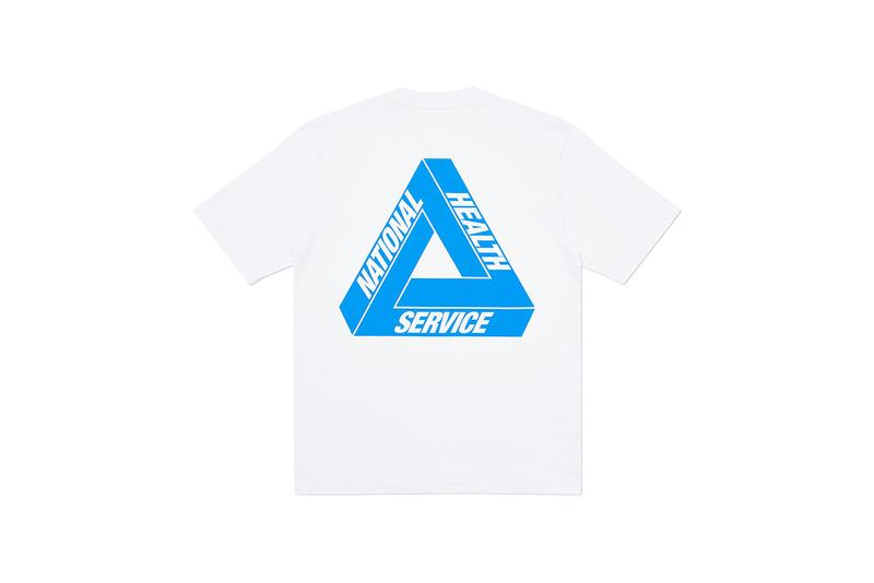 Palace Skateboards 推出全新慈善「NHS TRI-TO HELP」膠囊系列