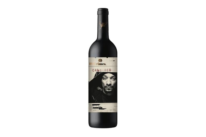 Snoop Dogg 聯手 19 Crimes 打造全新個人葡萄酒品牌「Snoop Cali Red」