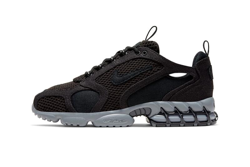 隱藏後着!Stüssy x Nike Air Zoom Spiridon Caged 2 第三配色鞋款不日上架