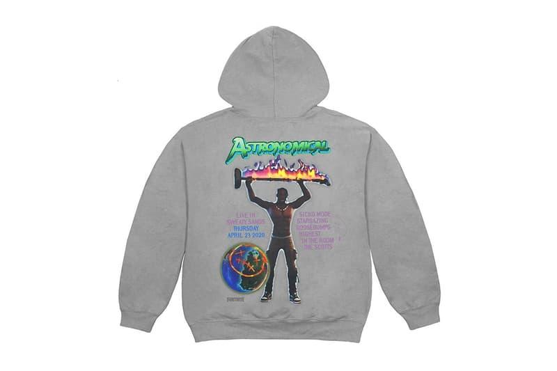Travis Scott x Fortnite 虛擬演唱會《Astronomical Tour》更多周邊商品再釋出