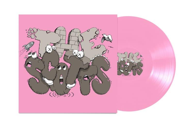 Travis Scott x Kid Cudi x KAWS 再次推出《THE SCOTTS》全新封面設計專輯