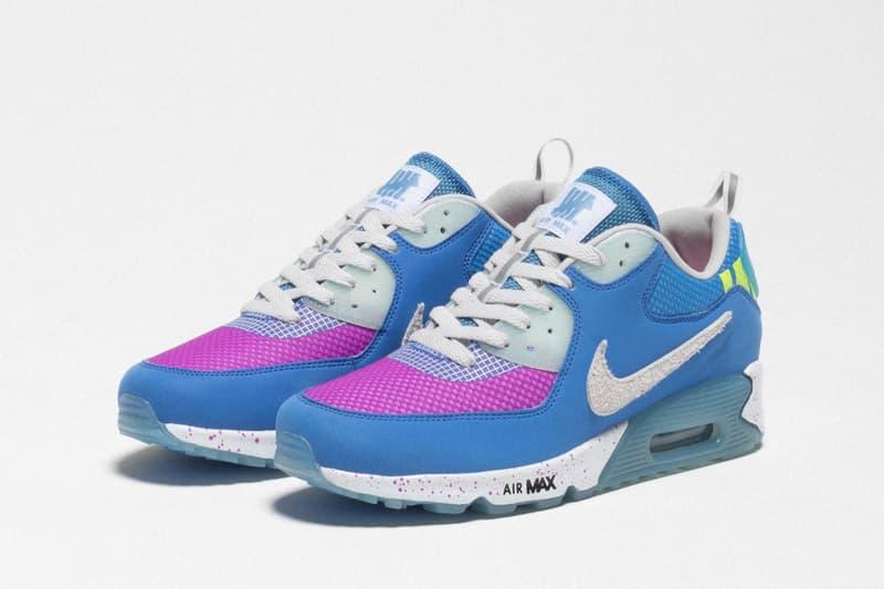 獨佔發售!UNDEFEATED x Nike Air Max 90 聯乘鞋款別注配色上架