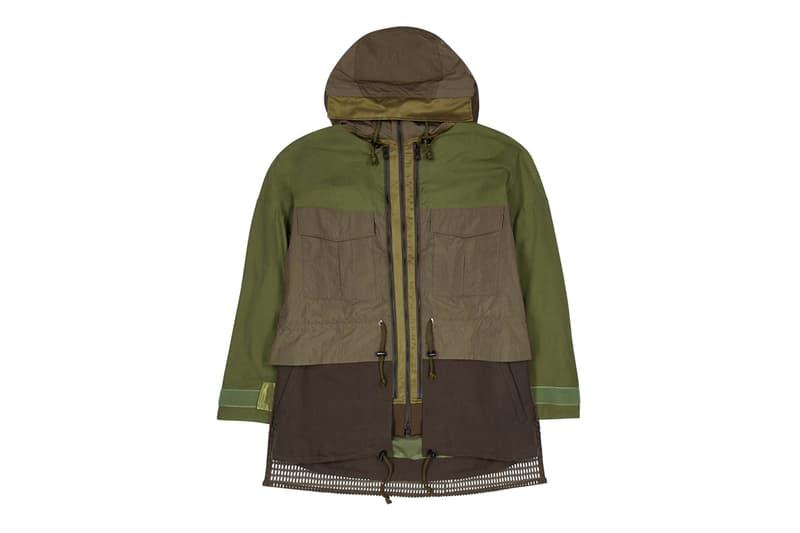 山系之最 - White Mountaineering 推出全新多口袋拼接防風外套