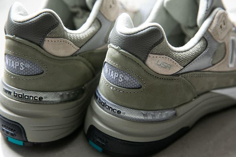 WTAPS x New Balance 最新聯名鞋款 M992 官方圖輯、發售情報正式公開