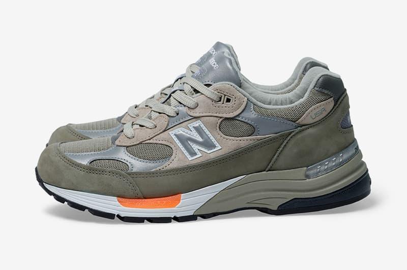 西山徹親自解析 WTAPS® x New Balance M992WT 聯名鞋款配色及細節由來
