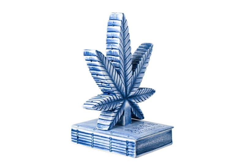 YEENJOY STUDIO 推出全新大麻葉樣式陶瓷香爐