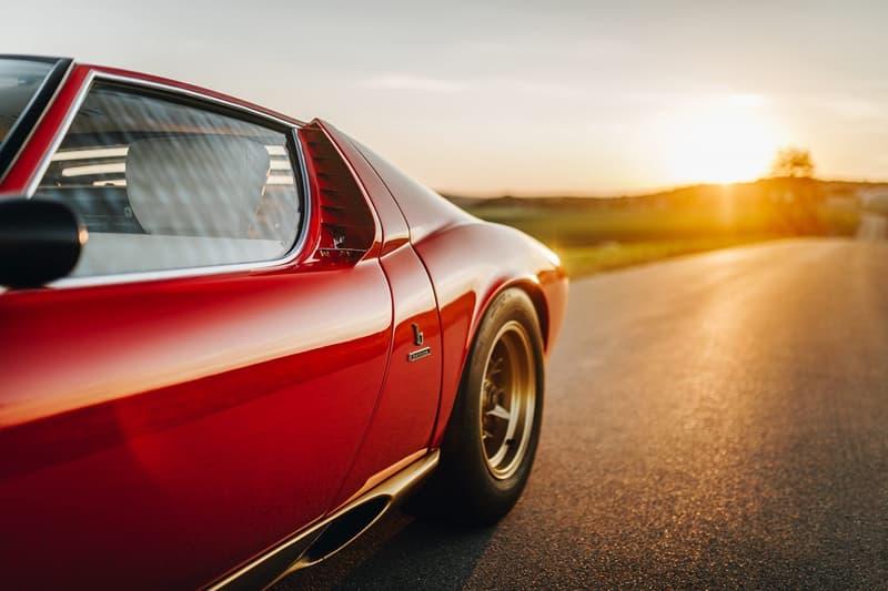 歷史名駒 − Lamborghini Miura P400 現正開放出售