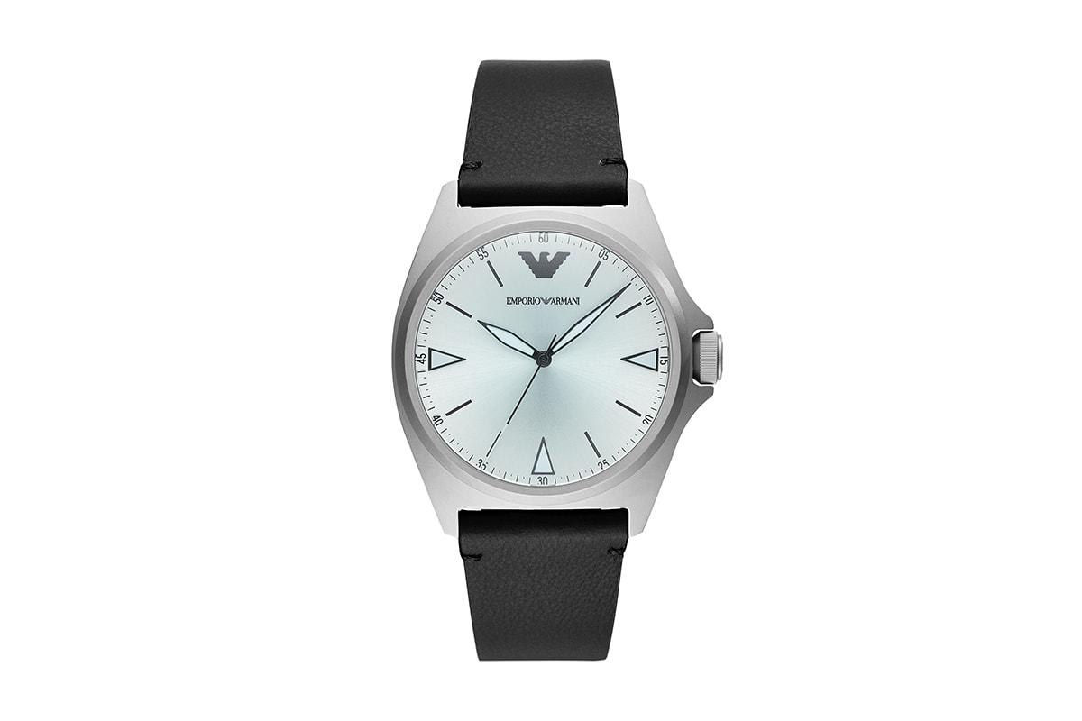 EMPORIO ARMANI 2020 年春季腕錶及首飾系列