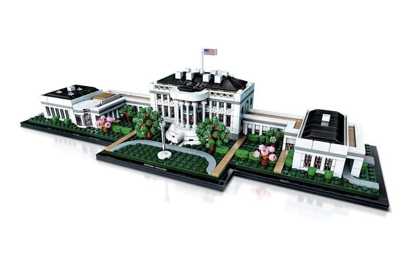 權力核心-LEGO Architecture 推出全新版本白宮(The White House)新作