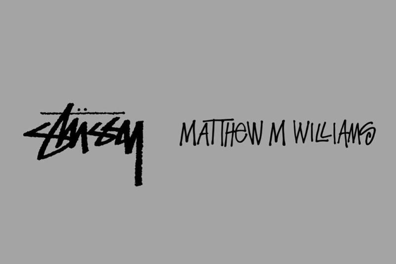 Matthew M. Williams 揭示與 Stussy 的全新合作系列