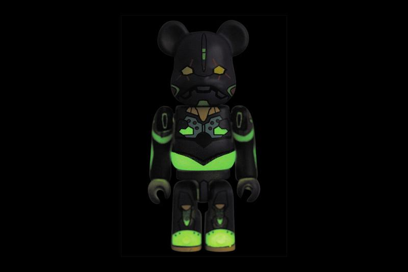 初夜版本-Medicom Toy 推出 EVA 初號機夜間戰鬥模式 BE@RBRICK