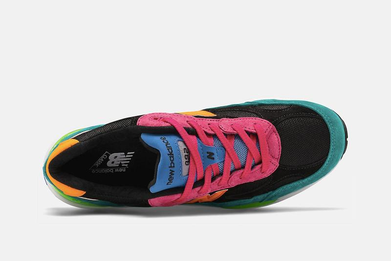 New Balance M992 再次為夏季釋出全新「Multi-Color」配色