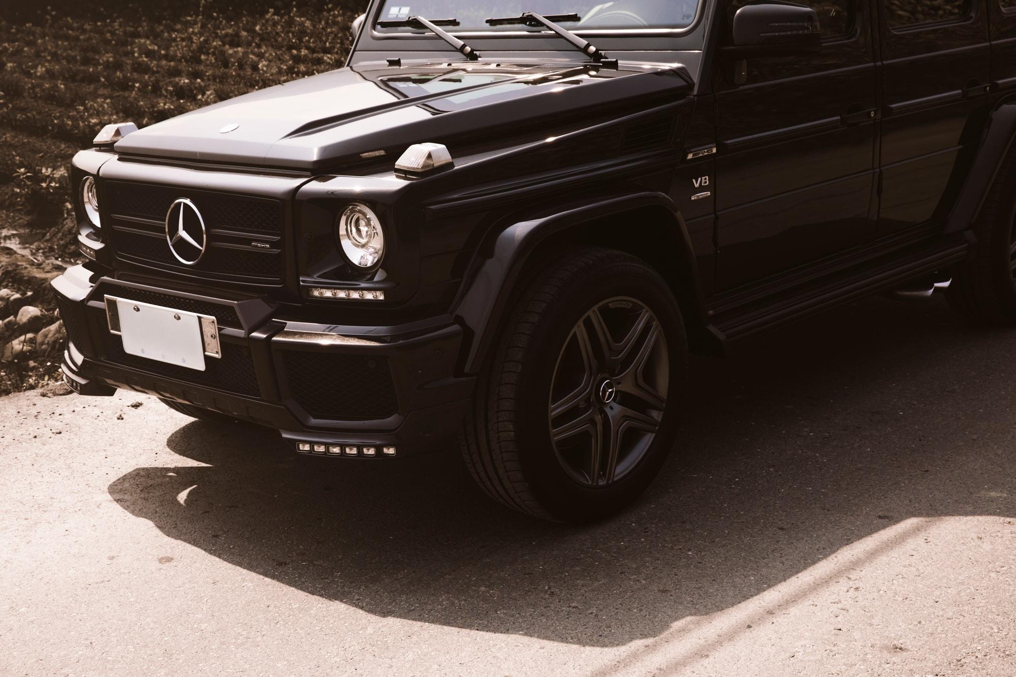 地上越野霸主降臨:專訪 Mercedes-Benz G-Class 愛好者 Cary、Wei THROTTLE