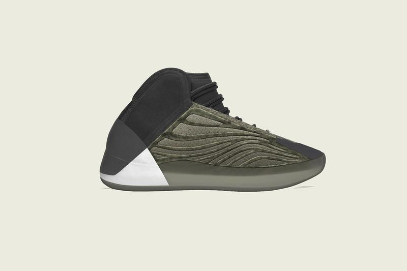 adidas YEEZY 籃球鞋 QUANTUM 最新配色「Barium」上腳高清圖輯曝光